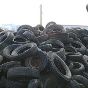 County cleans up with free tire recycling