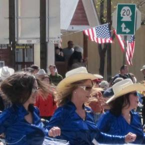 West Coast Heat kicked up their heels for the 2014 49ers Day parade. Photo by Don Nelson