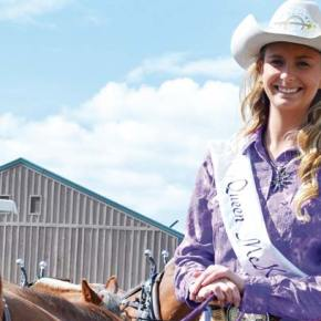 Methow Valley Rodeo Queen proves that perserverance pays off