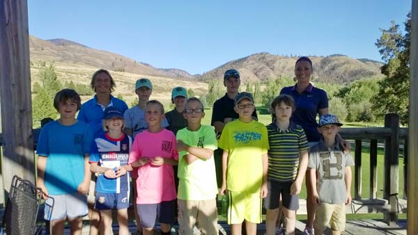 The Bear Creek Junior Golf Team finished its season last week with a tournament and barbecue. Photo courtesy Jill Sheley