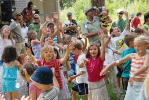 There will be no shortage of activities for kids at the Methow Arts Festival.