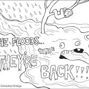 Texas Creek flood