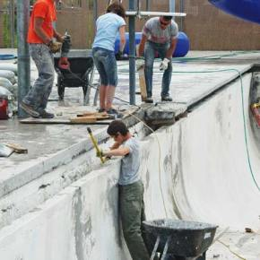 Work continues on Twisp pool repairs
