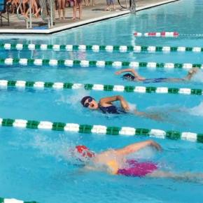 MV Killer Whales see first competition of swim season