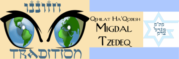 The Metivta of Ottawa. We Envision Tradition. Migdal Tzedeq 500x167x96