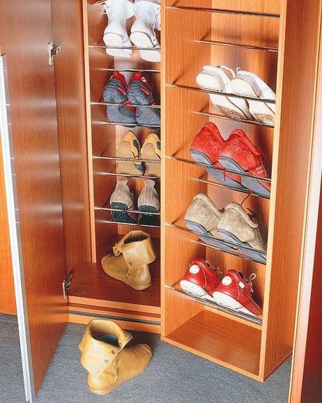 Accesorios para vestidores metrocloset for Zapateras para closet