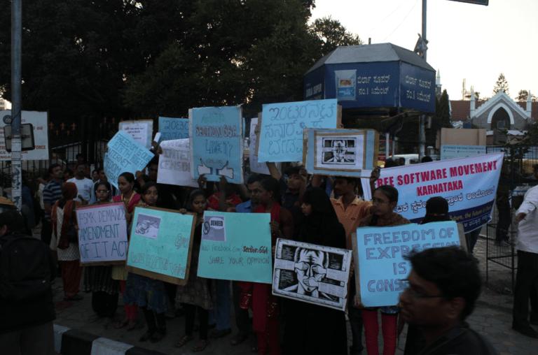 free basics protest india