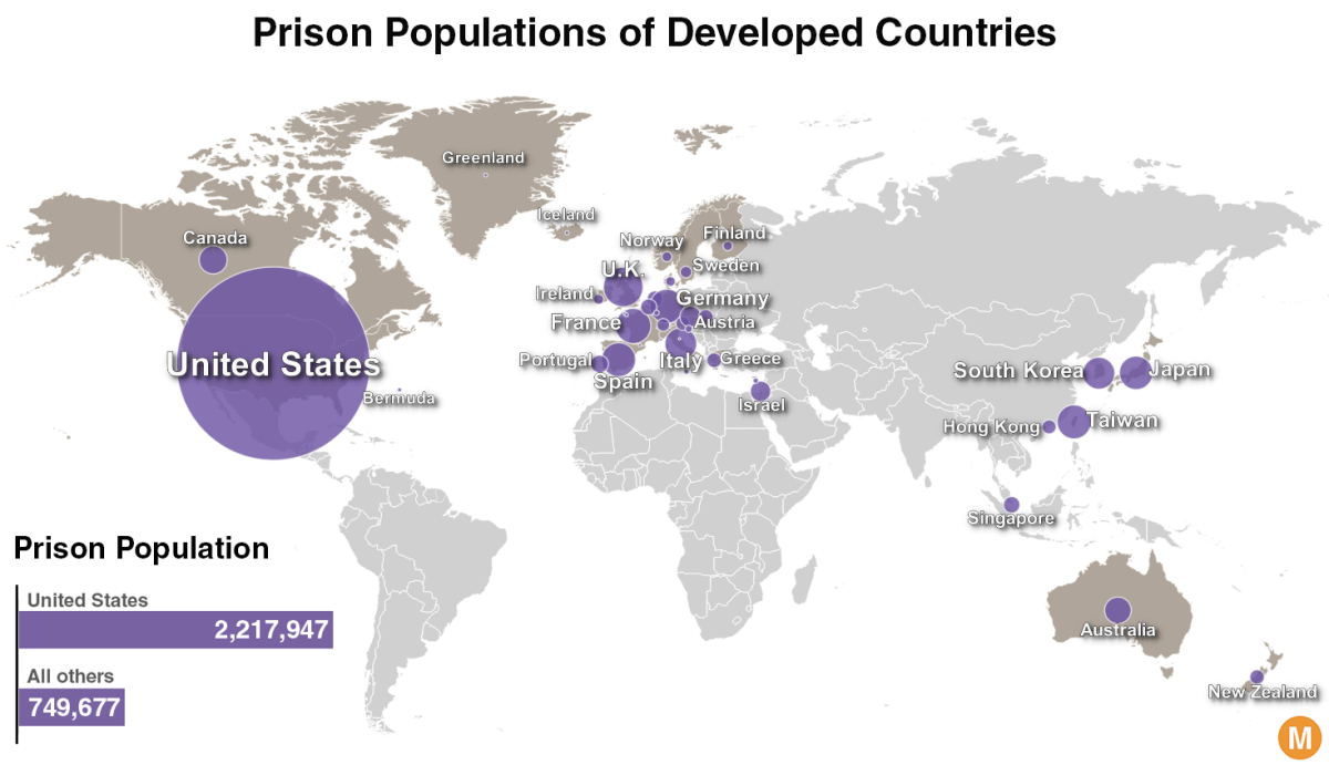 Prisoners in the Free World - America's Astronomical Incarceration Rate