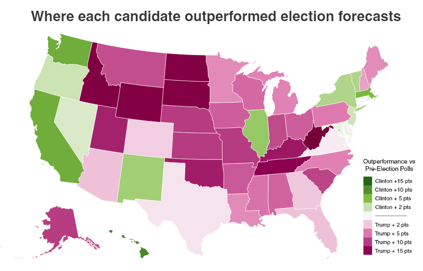 graphic relating to Printable Electoral College Map for Kids named Election Achievements in just the 3rd Measurement - Metrocosm
