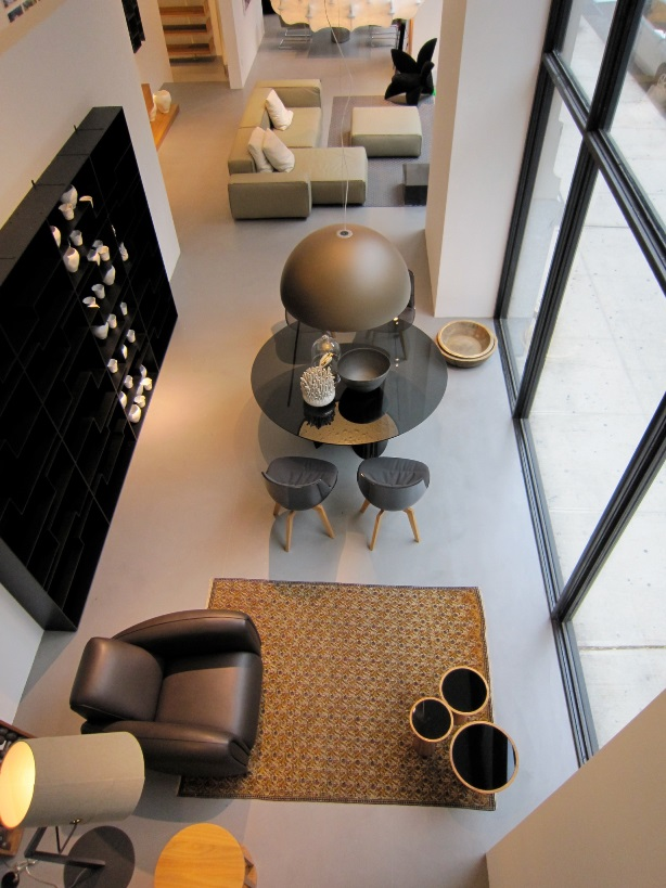 Furniture Showroom with Cement Floor NYC