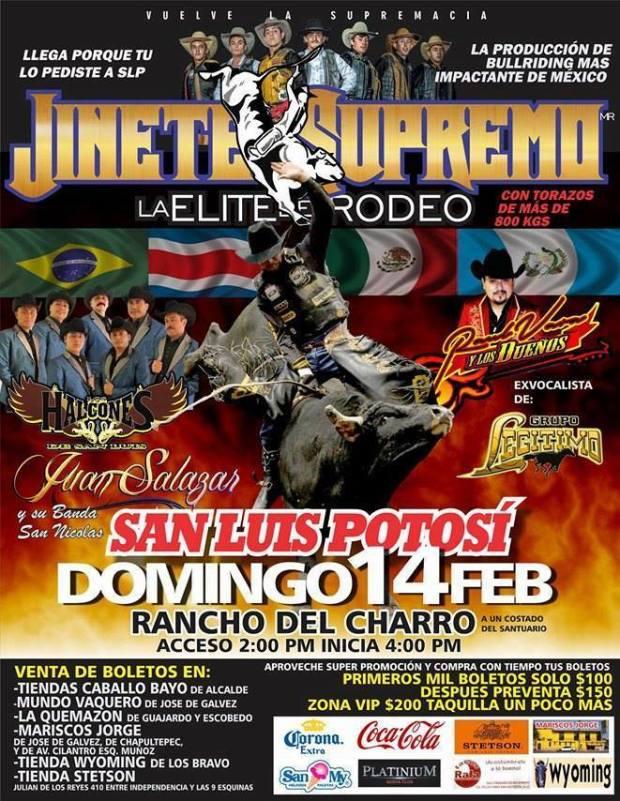 Jinete Supremo en San Luis Potosí @ Lienzo Charro