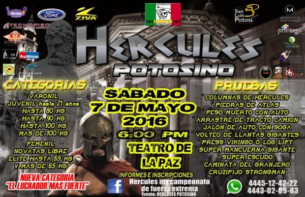 Hercules Potosino @ Teatro Alarcón