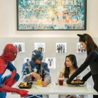 Singapore's First Superhero Cafe - Superhero Concept