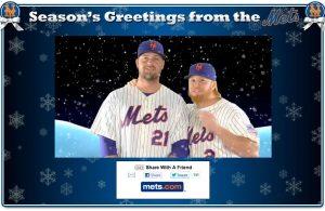 Mets Seasons Greetings