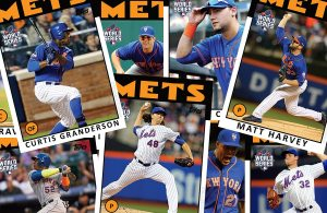 2015 World Series Mets Retro Topps Baseball Cards
