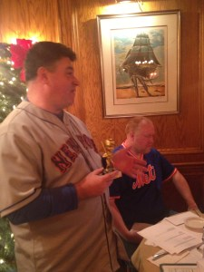 MetsPolice Gunslinger of the Year Award winner Mark Healey