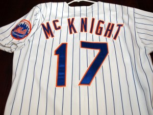 MetsPolice.com Jeff McKnight Jersey Back