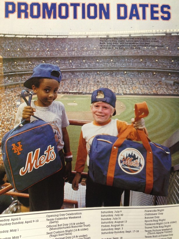 1983 mets yearbook