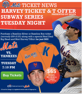 mets orange shirt ticket offer
