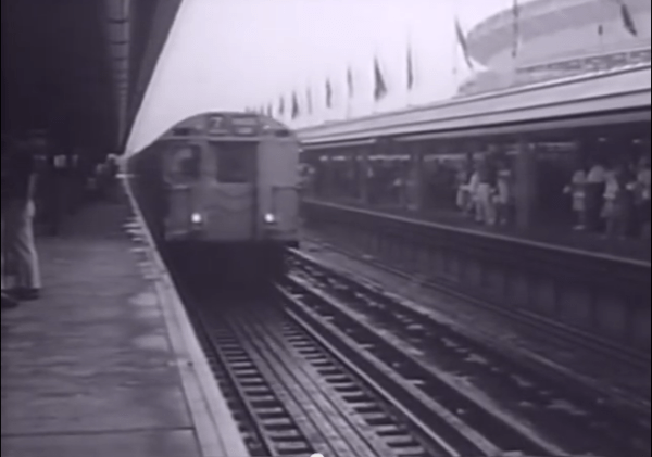 1964 shea stadium subway stop