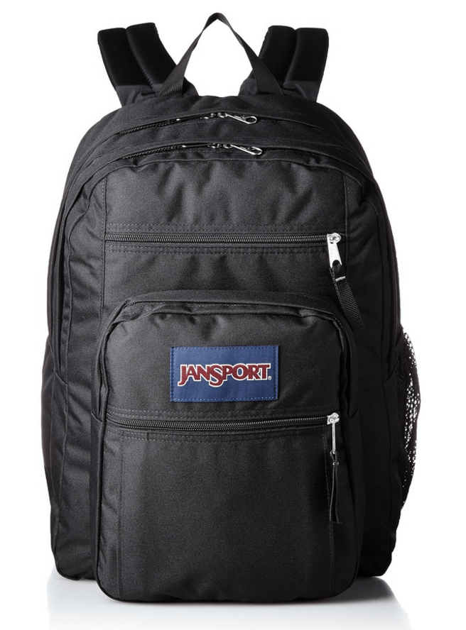 Jansport Big Student Backpack Travel Packing