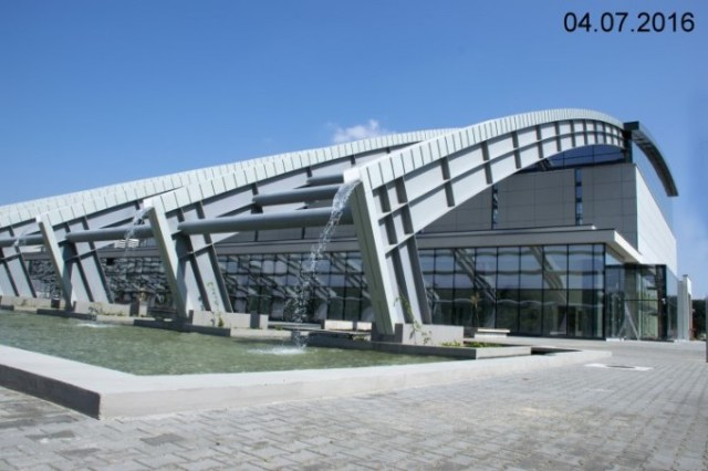 The building hosting the Laser-based Nuclear Physics pillar, at the Magurele scientific platform near Bucharest, part of the Extreme Light Infrastructure (ELI), a European and international Center of high-level research on ultra-high intensity lasers. Other countries hosting pillars of this project are the Czech Republic and Hungary. ELI-NP, also called the most powerful laser in the world, will have applications in medicine, nuclear security, and the future travel to Mars. It seems Romania has a chance, with significant European funding, to reactivate its scientific research infrastructure, almost entirely dismantled after 1989. Photo source: http://www.eli-np.ro
