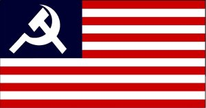 US communist flag