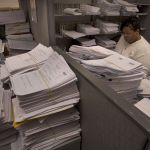 stacks of foreclosure lawsuits
