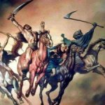 Wells Fargo should change their logo from a horse drawn stagecoach to the Four Horsemen of the Apocolypse