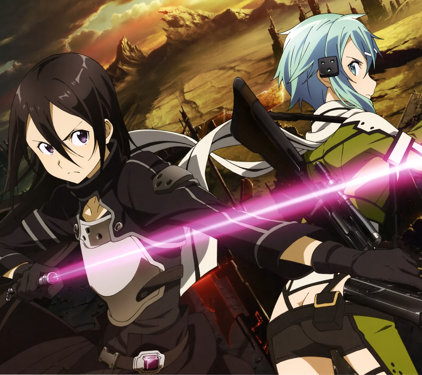 Anime Sword Art Online II  1440x1280  Wallpaper ID  719340   Mobile     Wallpaper 719340