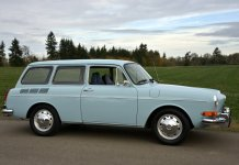 My first car - the Volkswagen Type 3 Squareback