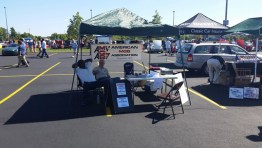 AMGBA Tent at 2014 Chicago British Car Day