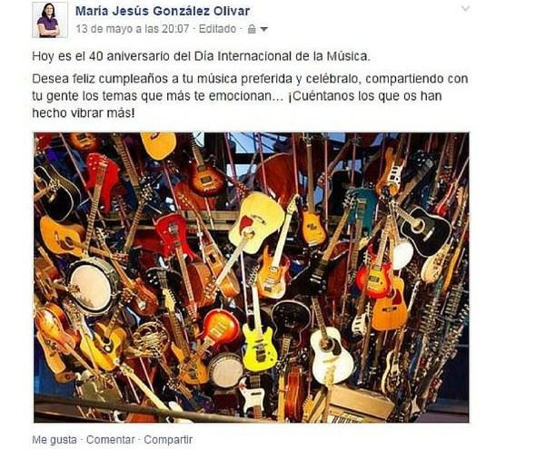 Ejemplo copy Facebook MGo contenidos & marketing