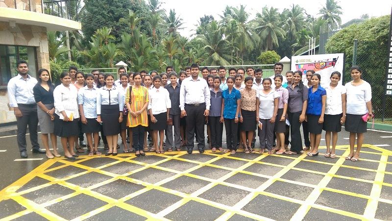 The Field visit of the mega Group 2 for Ranaviru Apparels