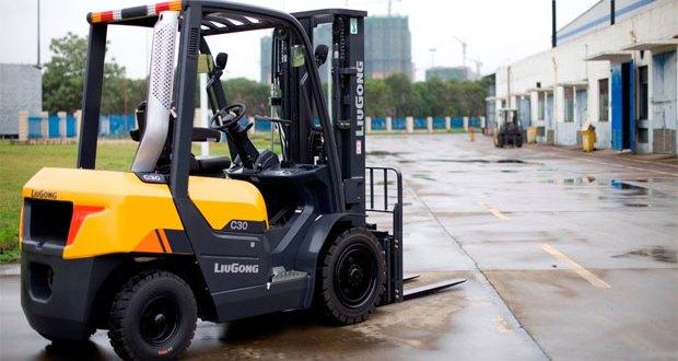 LiuGong C-Series Forklift debuts at CeMAT 2016
