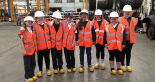 Terex Construction welcomes engineers of the future to Coventry