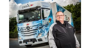 17.1 mpg! GBA's Mercedes-Benz Actros sets a new standard for fuel efficiency