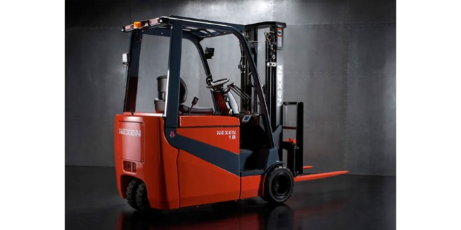 Latest electric X-Range lift truck from Nexen sets off for Three Oceans