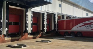 Stertil provides cost effective loading bays upgrade for AAH Pharmaceuticals