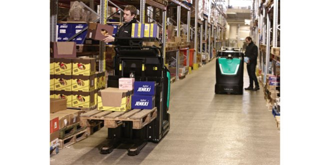 Mitsubishi forklift trucks follows Olympic model in designing new Order Picker