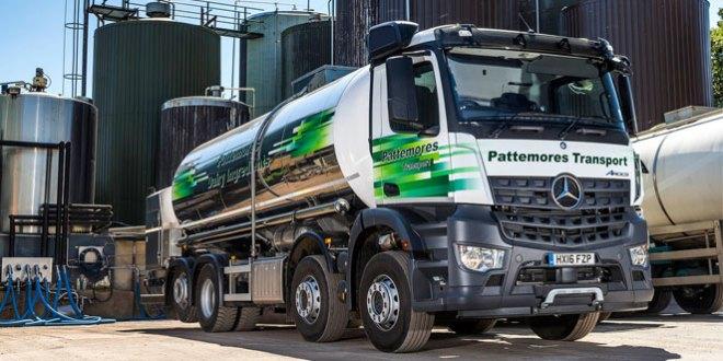 Pattemores milks Mercedes-Benz Arocs payload bonus