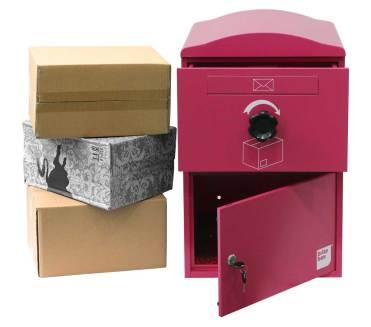 Brizebox has designed a parcel delivery box requiring minimum courier intervention