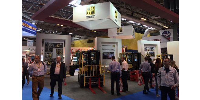 Tough Hyster Handling Solutions showcased at IMHX 2016