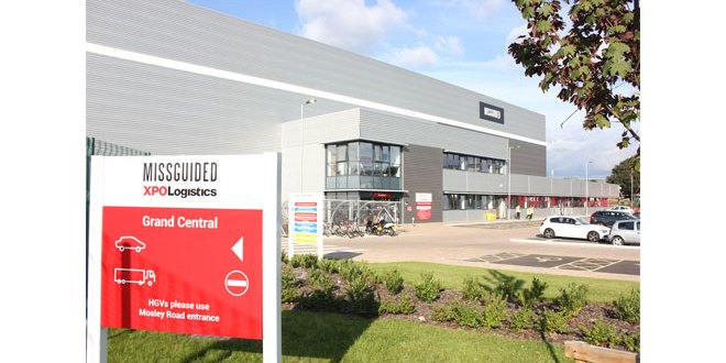 XPO Logistics supports 'Fast Fashion' start-up Missguided's rapid growth with new logistics hub