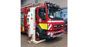 North Wales Fire & Rescue Service relies on Stertil Koni Earthlifts