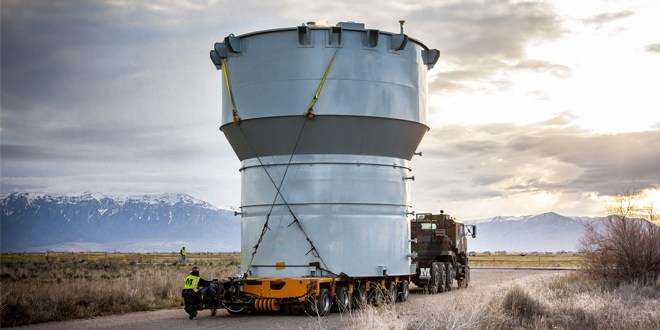 Mountain Heavy Transport MHT - Obstacle course for separator delivery