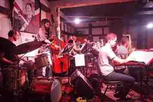 Free jazz jam every Monday night