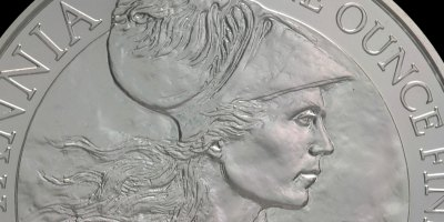 2010.  'Britannia in Profile (detail).'