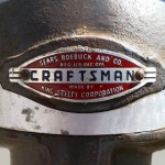 Front logo is in reasonable shape for 63 years old.