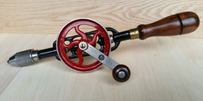 Millers Falls no. 5 hand drill - restored.